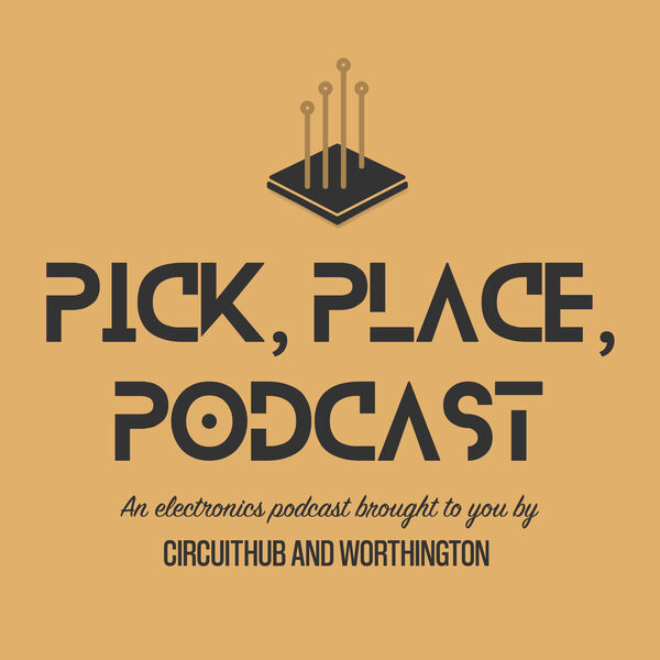 Pick, Place, Podcast Logo